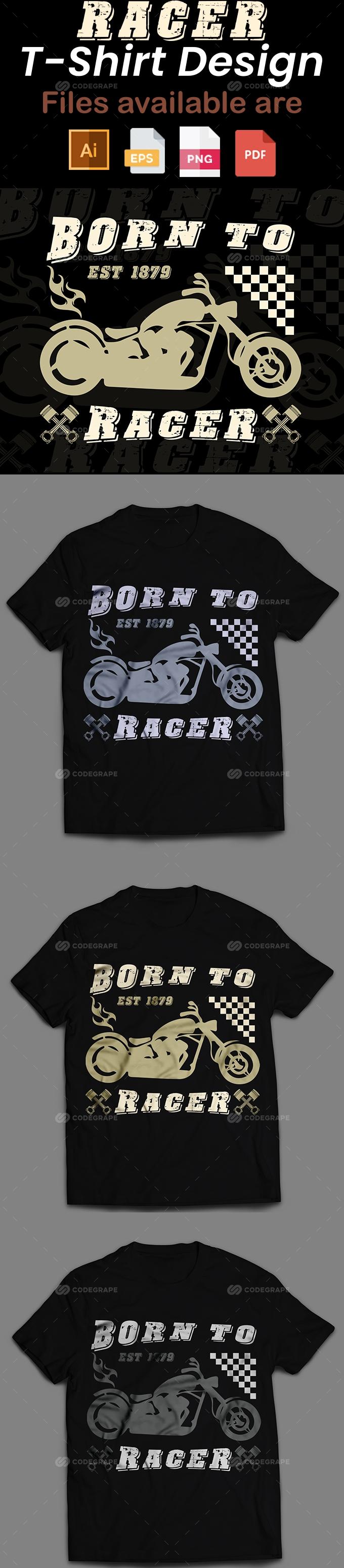 Racer T-Shirt Design