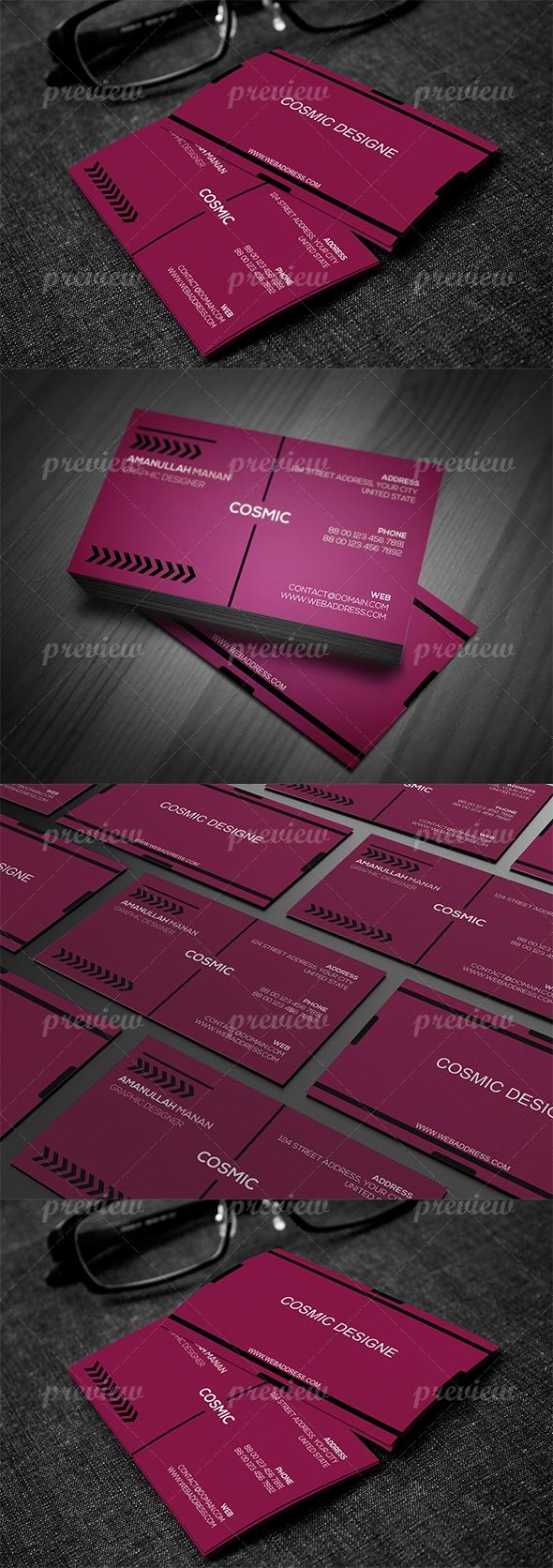 Corporate Business Card 6