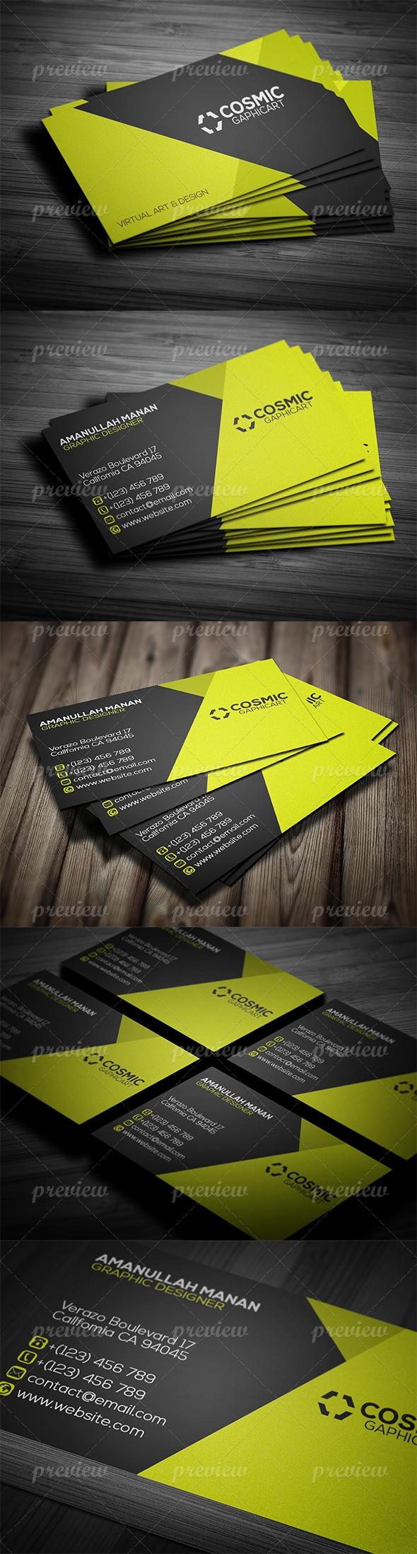 Corporate Business Card 13