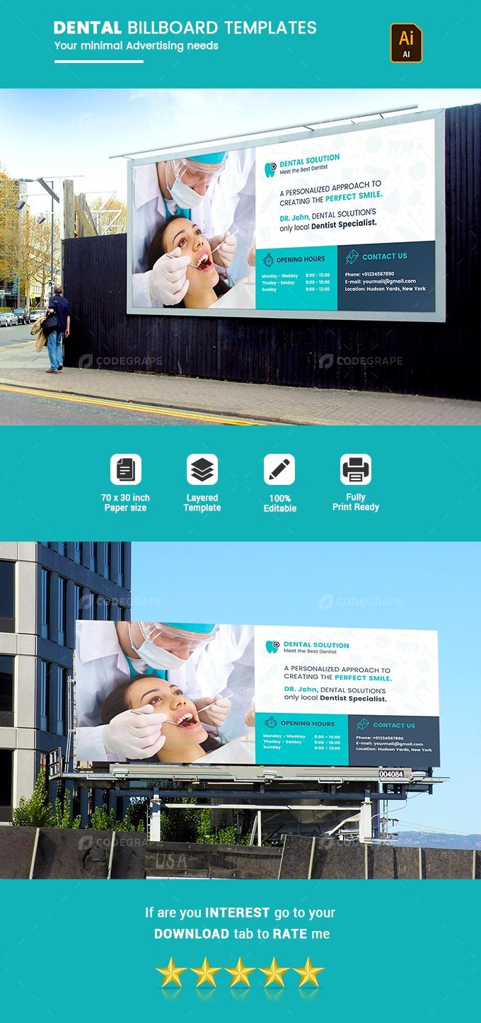 Dental Billboard Template