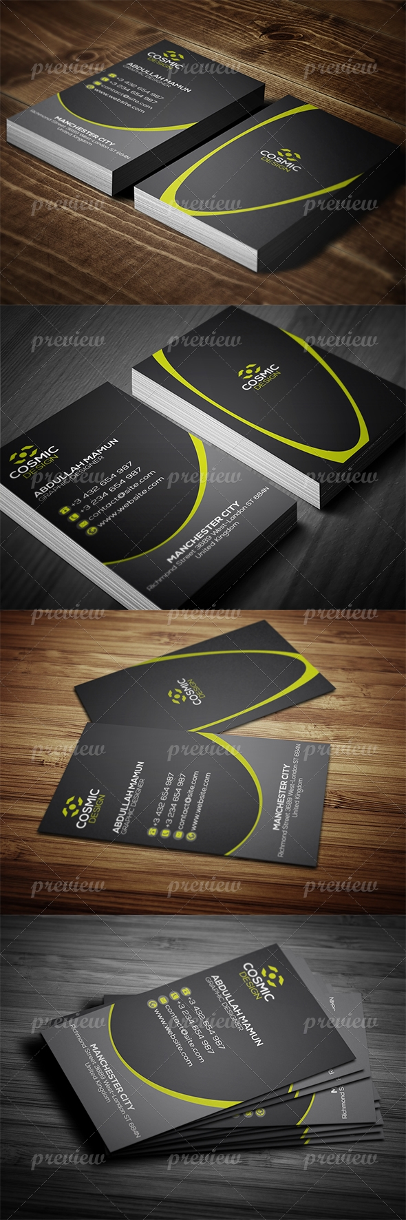 Corporate Business Card 14
