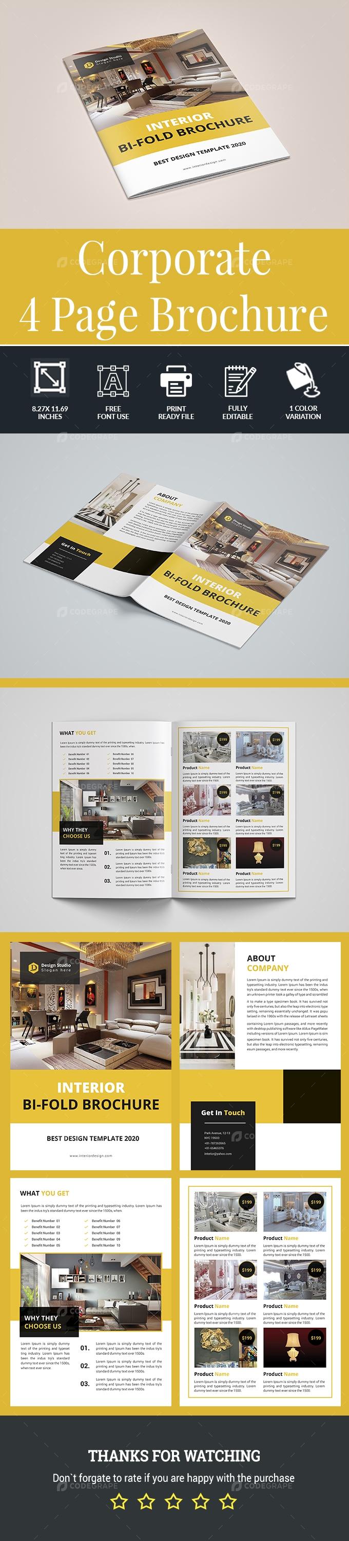 Corporate Bifold Brochure