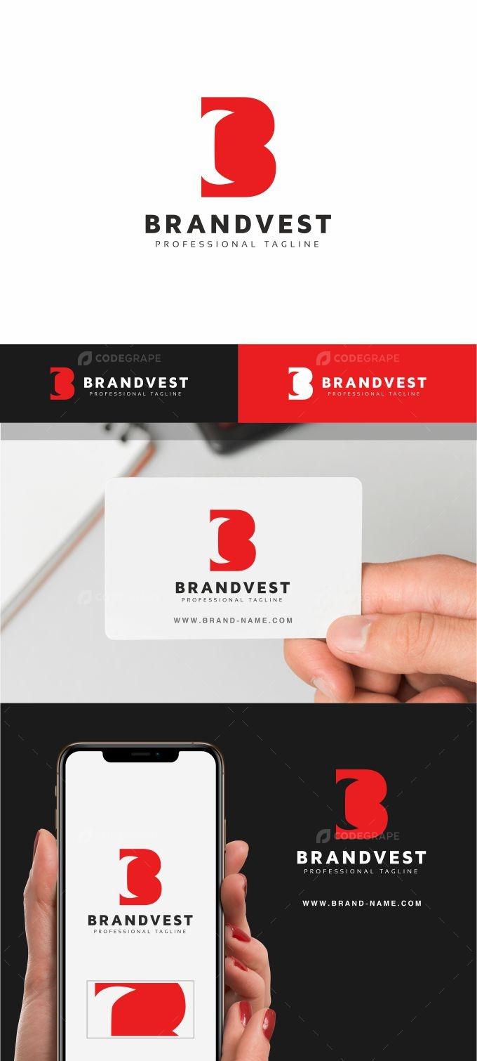 Brandvest B Letter Logo