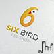 6 Bird Logo