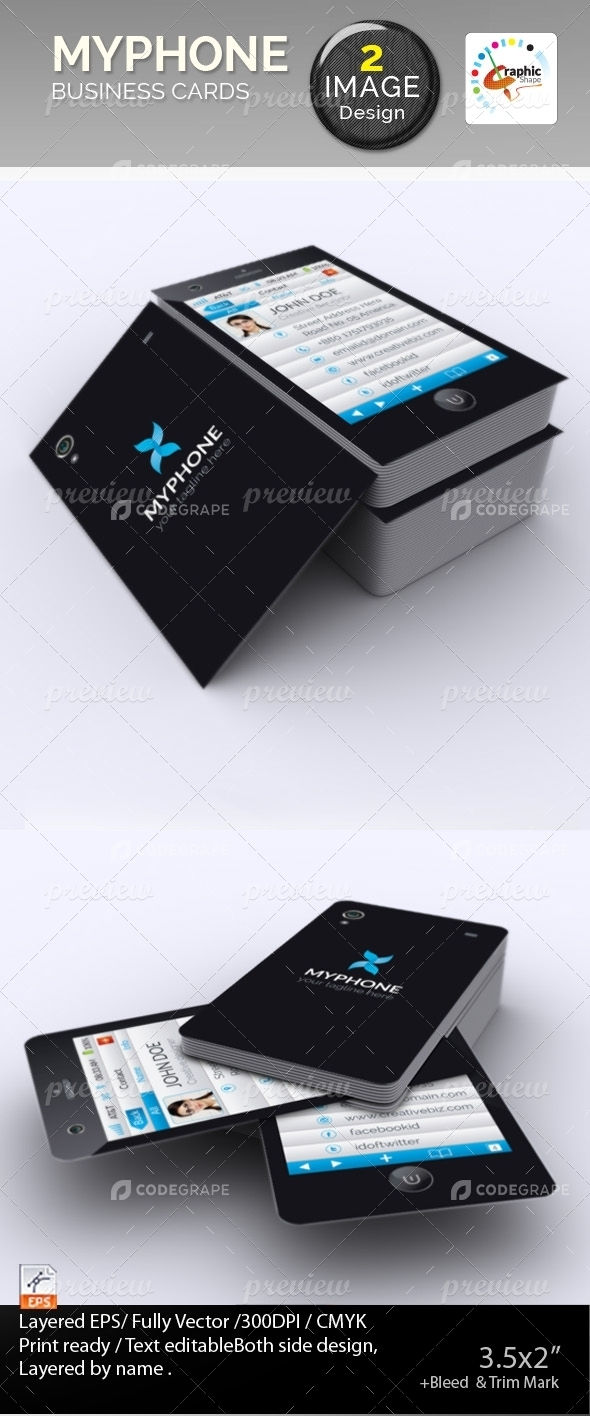 Myphone Business Card