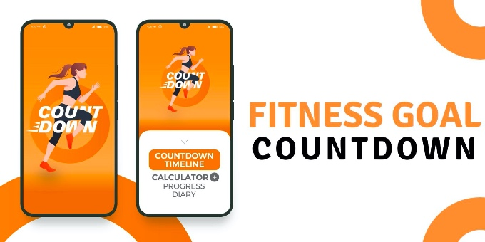 Fitness Goal Countdown Timeline - Android App Source Code
