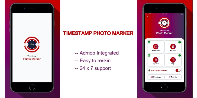 Timestamp Photo Marker - iOS App Source Code