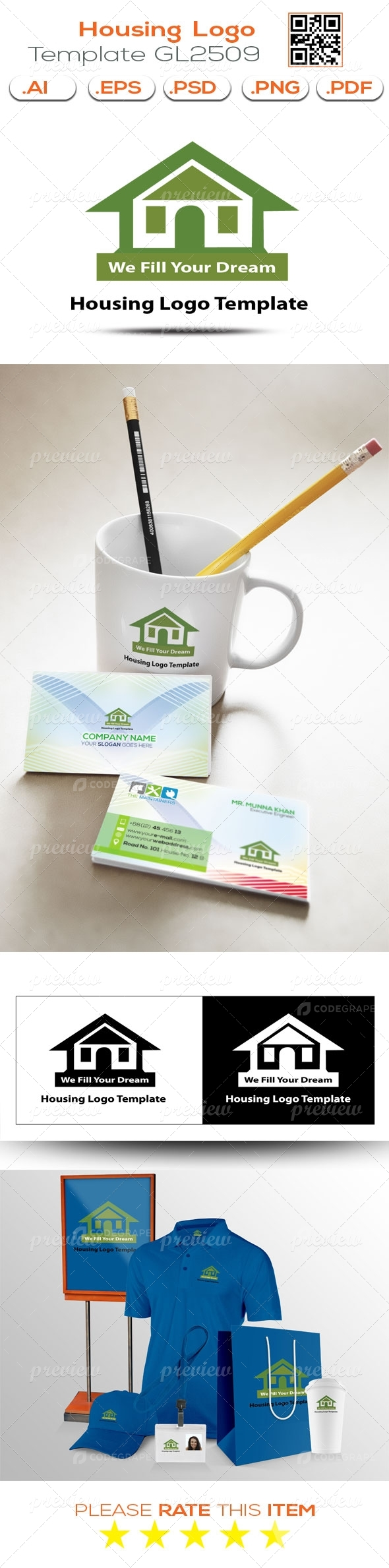 Housing Logo Template GL2509