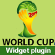 World Cup Widget Display Matches & Groups