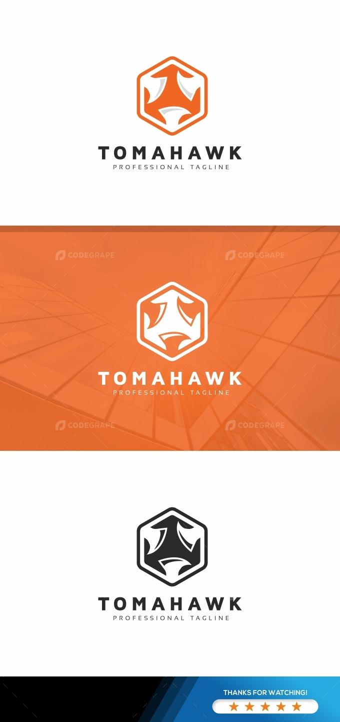 Axe Logo Template