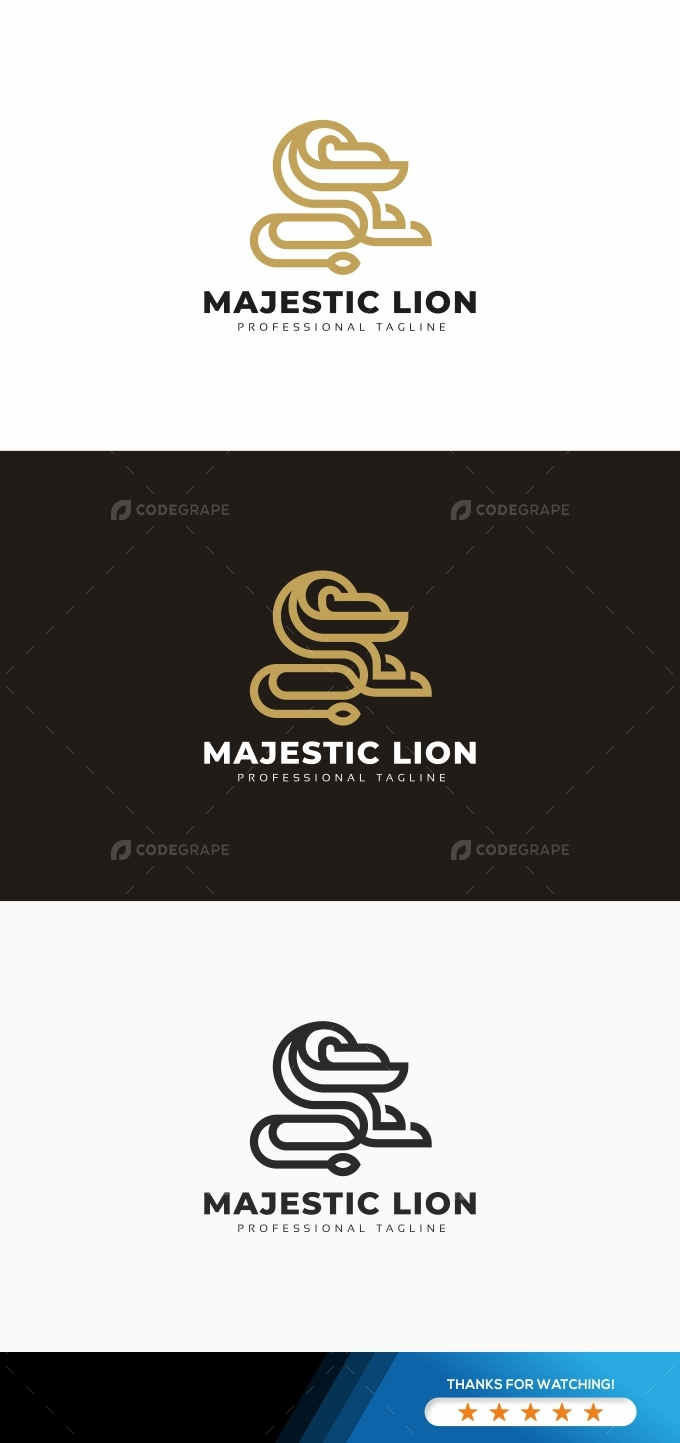 Majestic Lion Logo