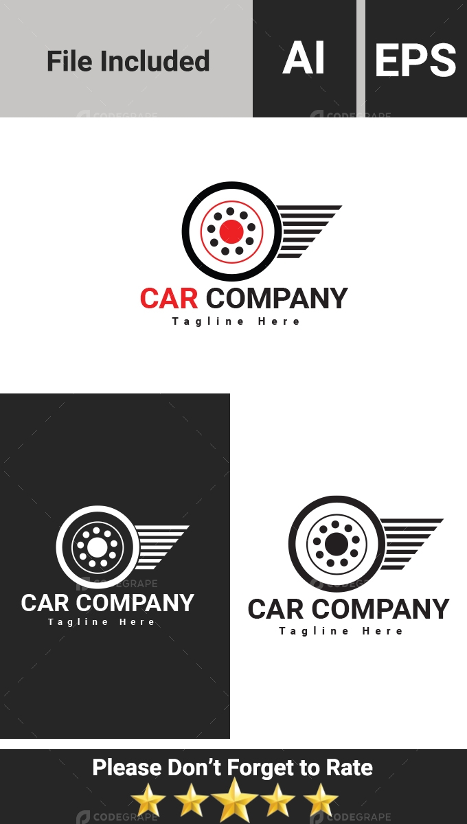 Tyre Company Logo Template