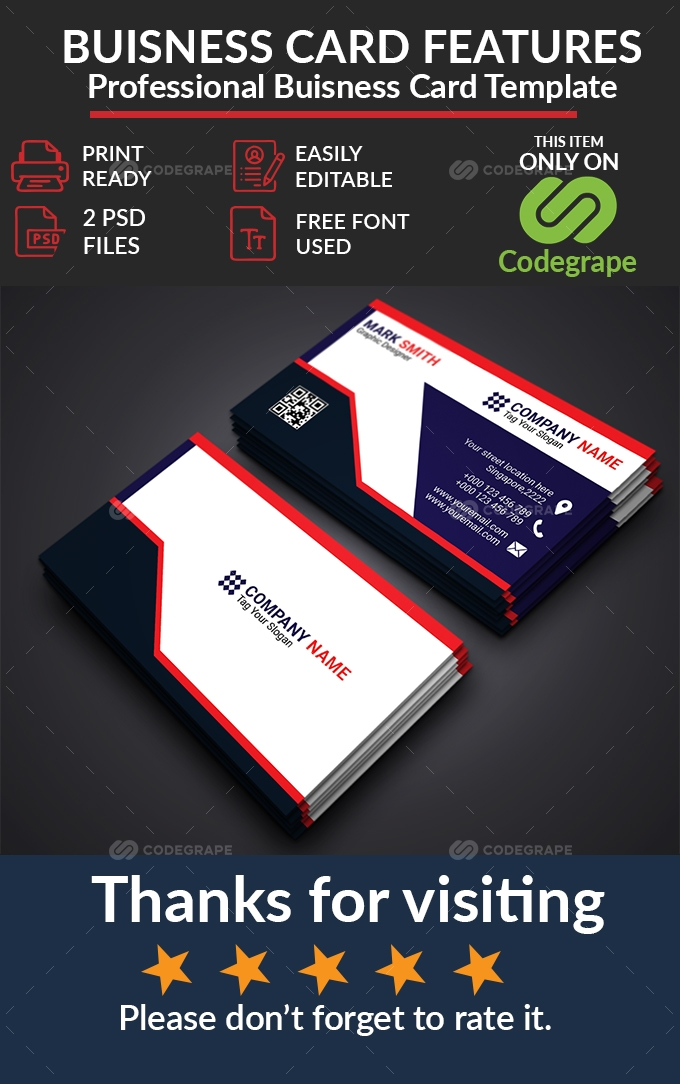 Proffessional Business Card