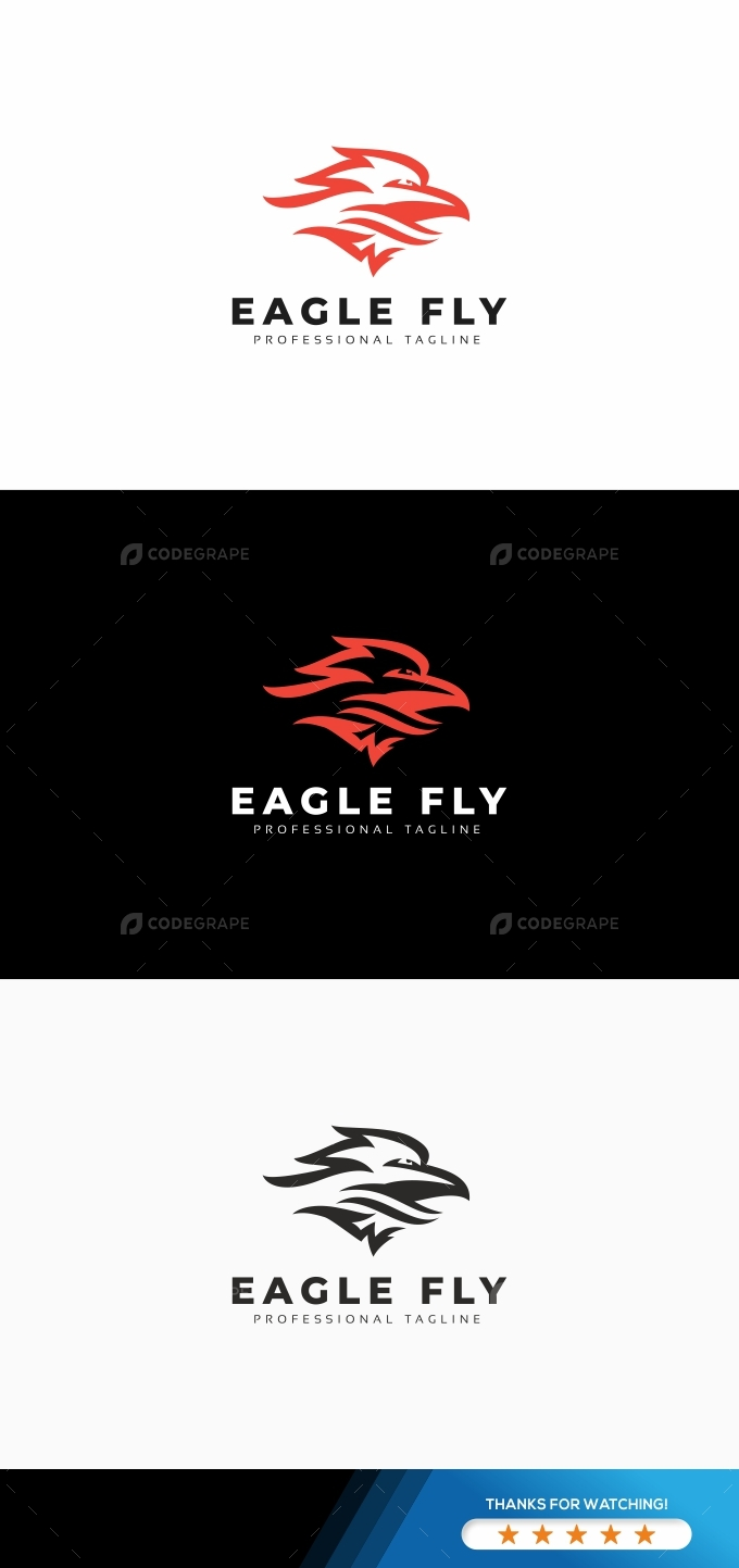 Eagle Fly Logo