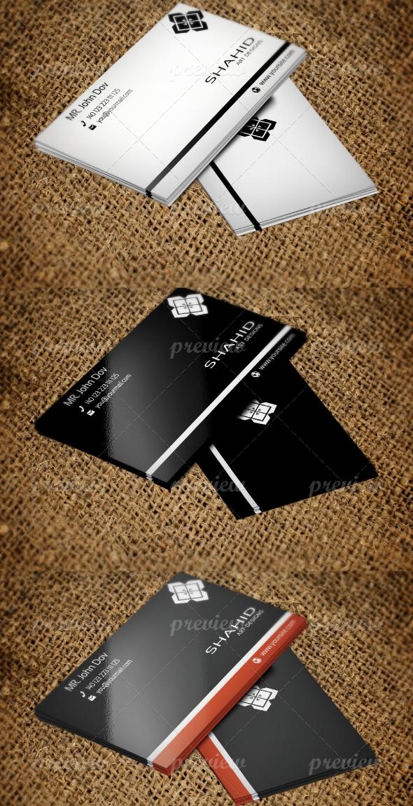 Jabbi V29 Corporate Business card