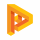 Parallator P Letter Logo