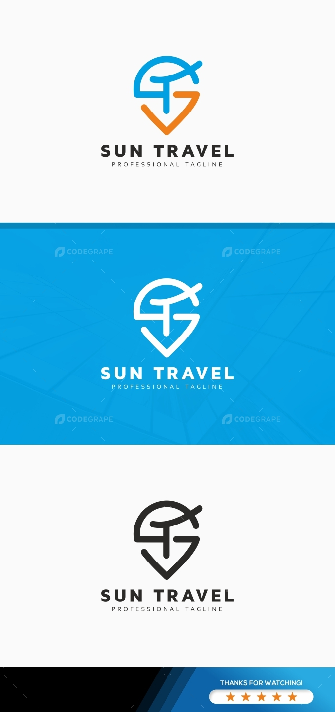 Sun Travel Logo