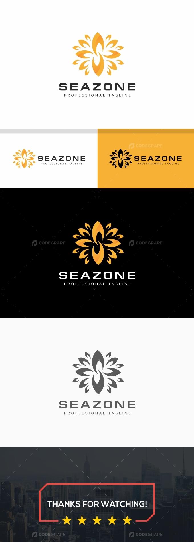 S Letter Flower Logo