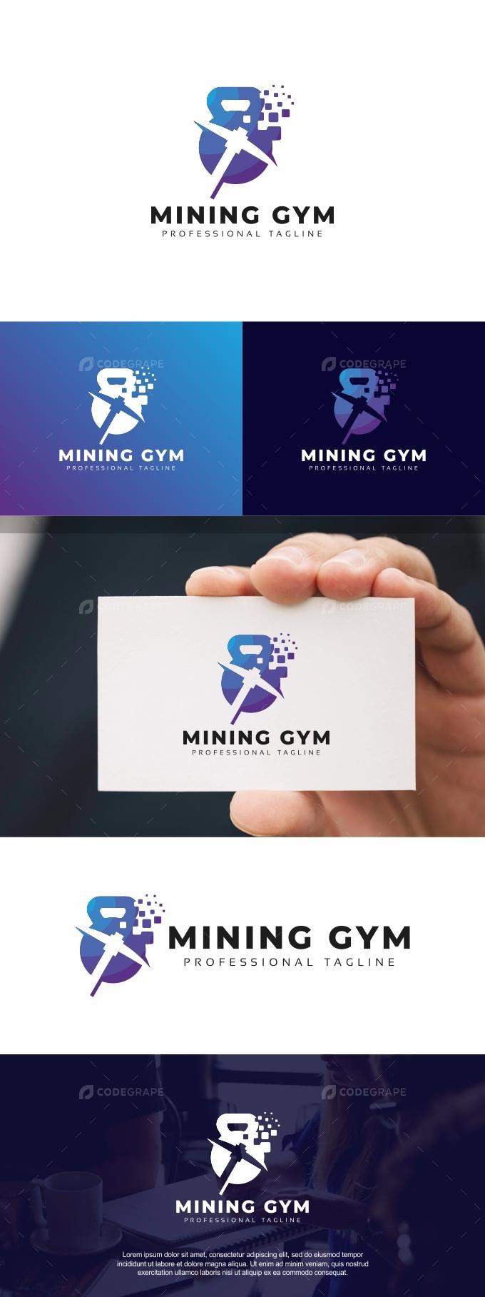 Mining Gym Logo