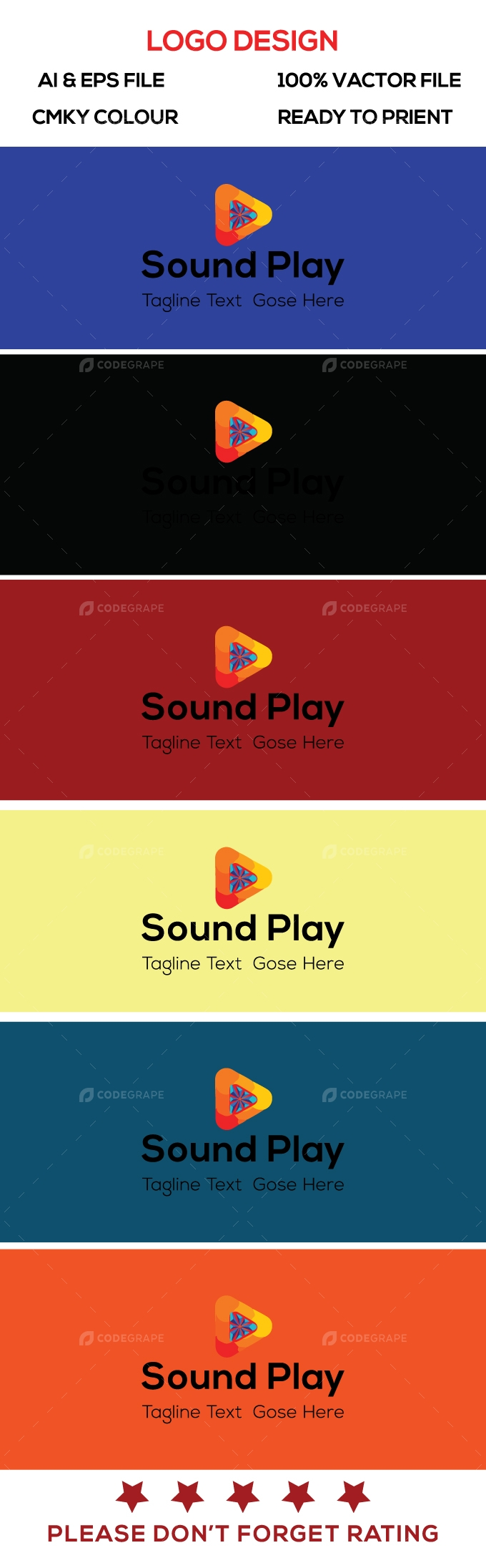 Sound Play Logo