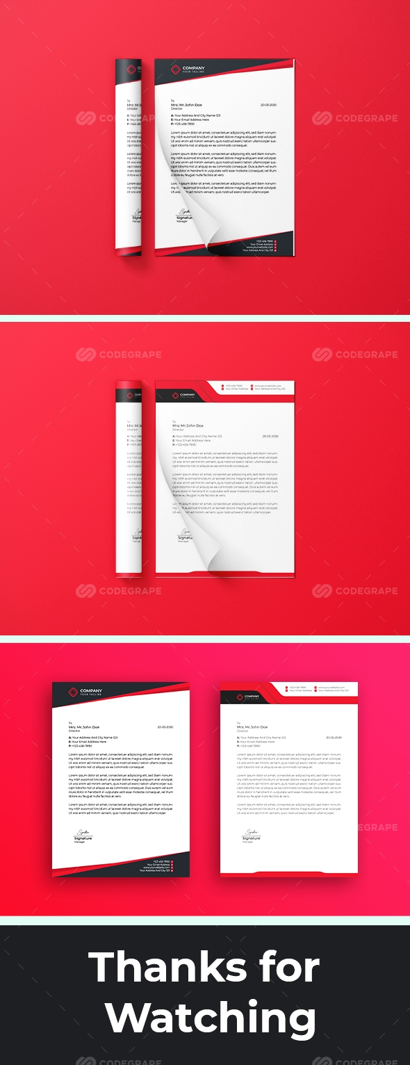Creative Corporate Flyer