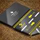 Road Builder Construction Business Card