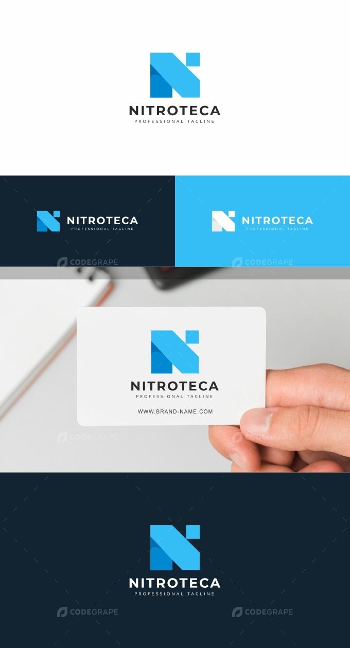 Nitroteca N Letter Logo