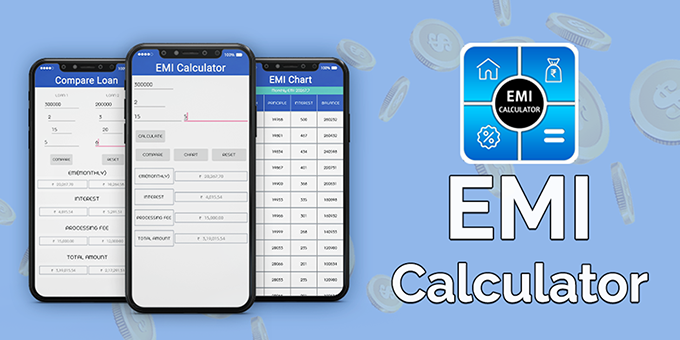 EMI Calculator : Loan & Finance Planner - Android App