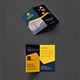 Stylish Professional Folded Business Card