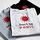 Don't be PANIC, T-shirt Design