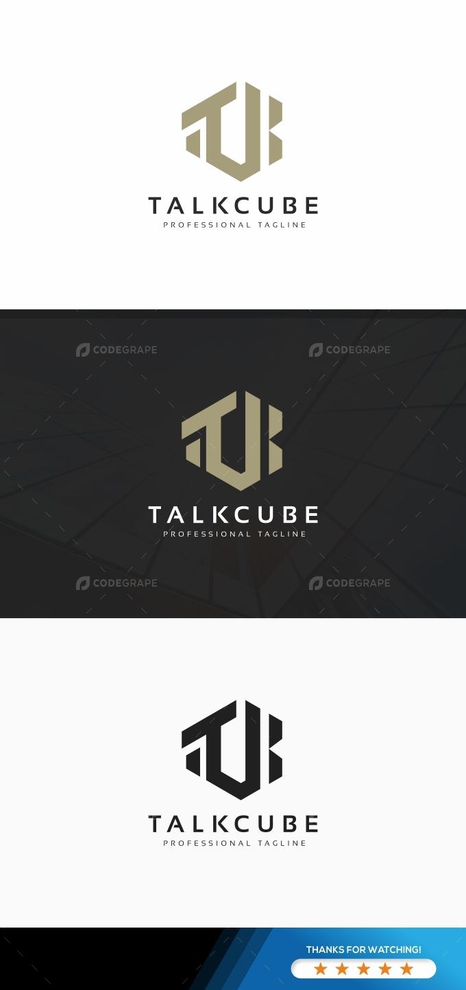 Talkcube T Letter Logo