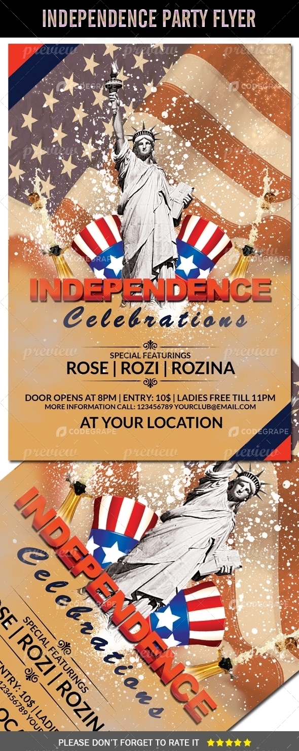 Independence Celebrations Flyer (4th July)