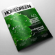 A4/Letter Indesign Magazine Template v.01