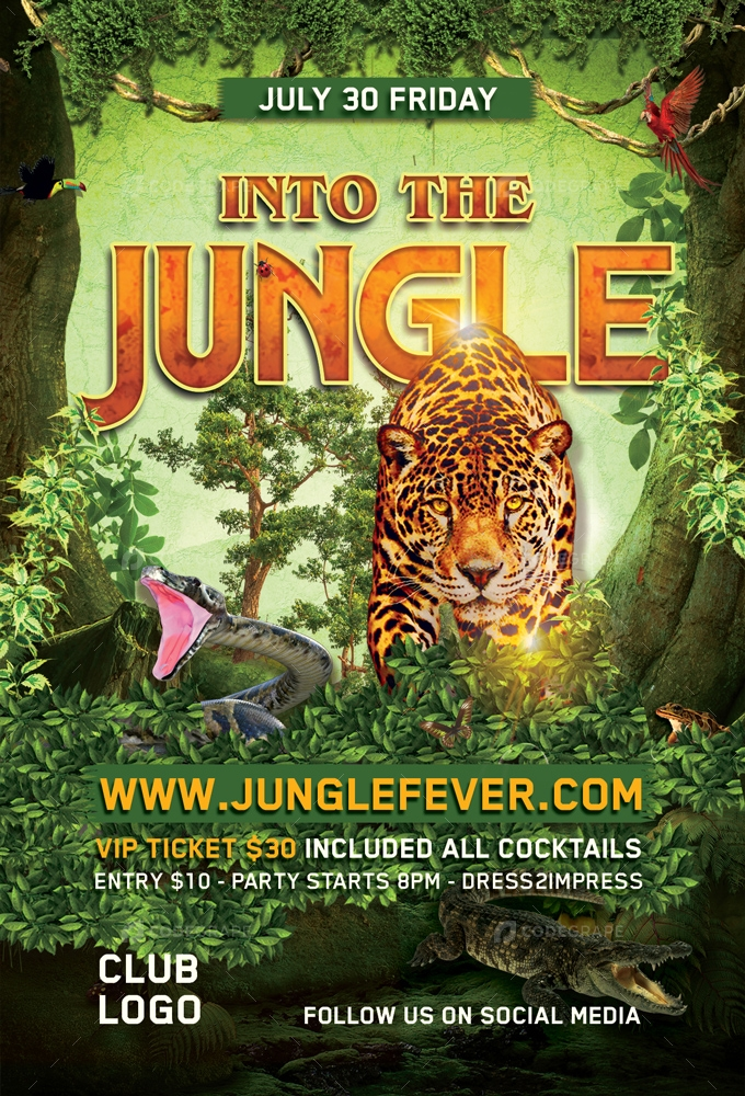 Into The Jungle Party