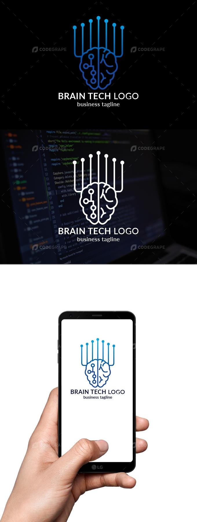Brain Tech Logo