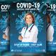 Coronavirus Covid-19 Flyer Template