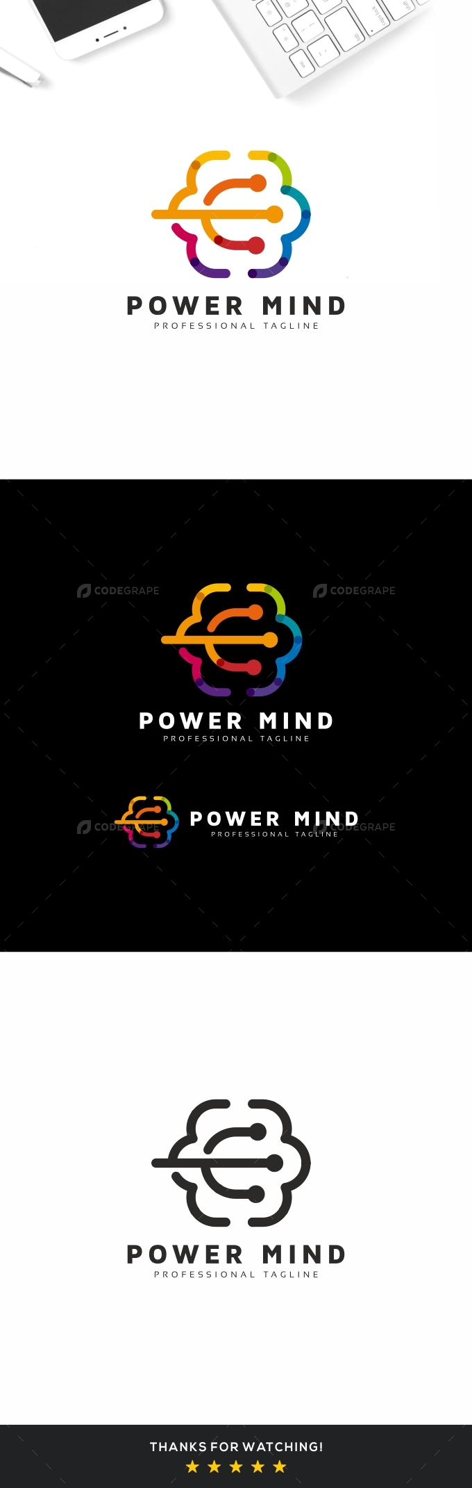 Power Mind Logo