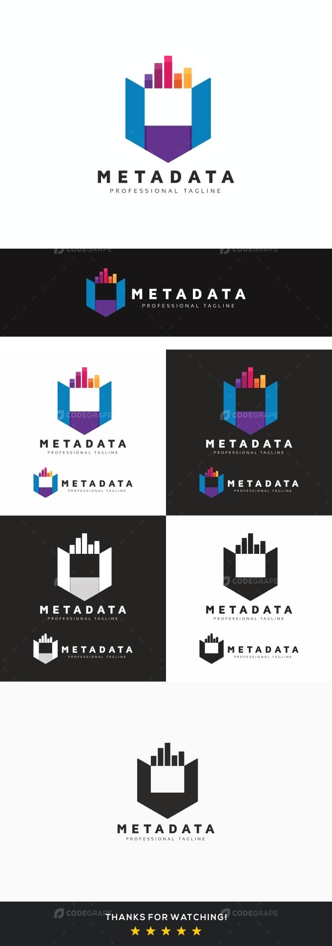 Metadata M Letter Logo