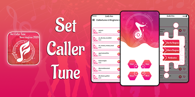 Set Caller Tune Song: New Ringtones 2020 - Android App