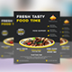 Restaurant flyre design template