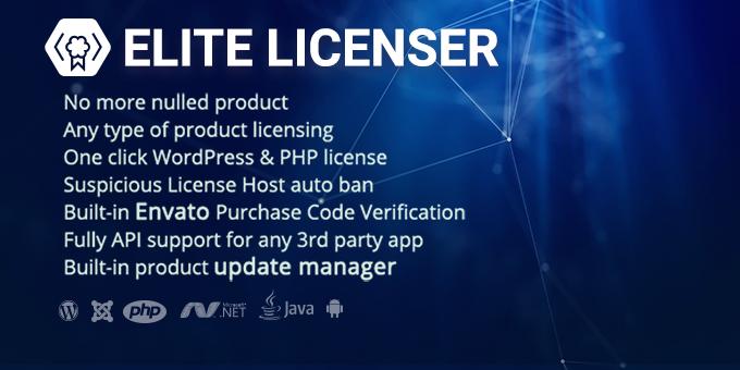 Elite Licenser - Software License Manager for WordPress