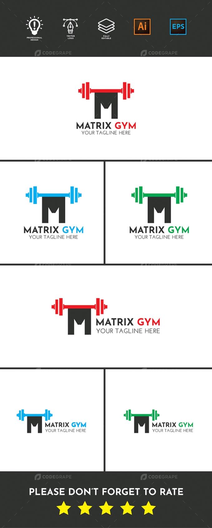 Matrix Gym Logo
