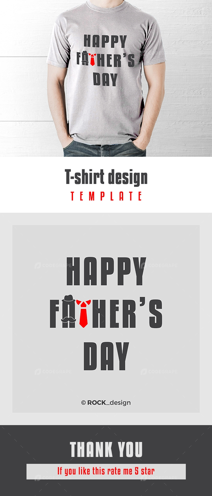 Father's Day, T-shirt Design