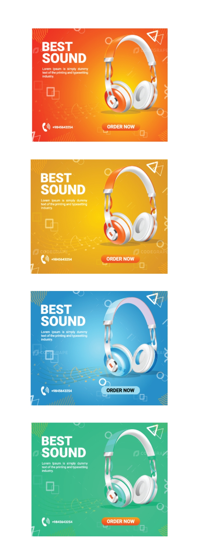 Social Media Ads Template Design