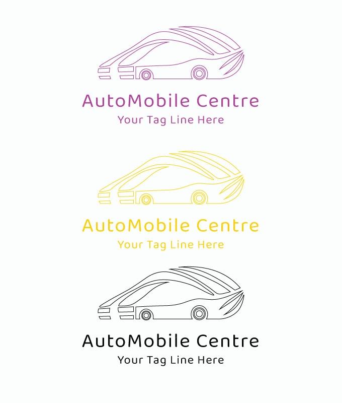 Auto Mobile centre logo