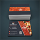 Restaurant Business Card Design