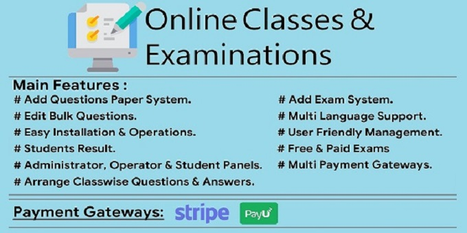 Online Classes & Examination System