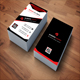 Red-Vertical Business Card