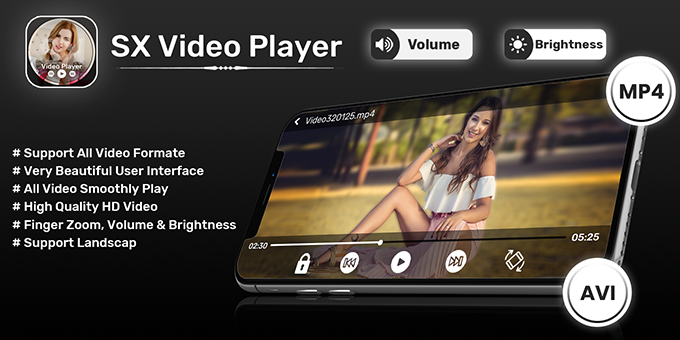 SX Video Player All Format 2020 - Android App + Admob + Facebook Integration
