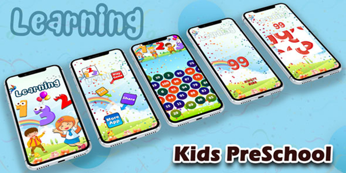 Preschool Numbers : Kids Math Learning Game - Kid Math Puzzle - Android App